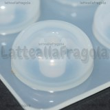 Stampo in silicone Perle foro largo lucide 16mm